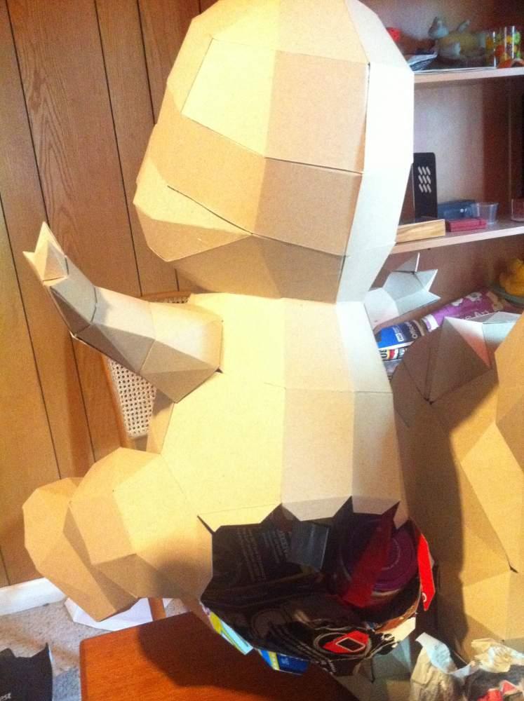 Life Sized Pokemon Papercraft